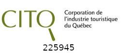 Membre 225945 de la Corporation de l'industrie touristique du Québec